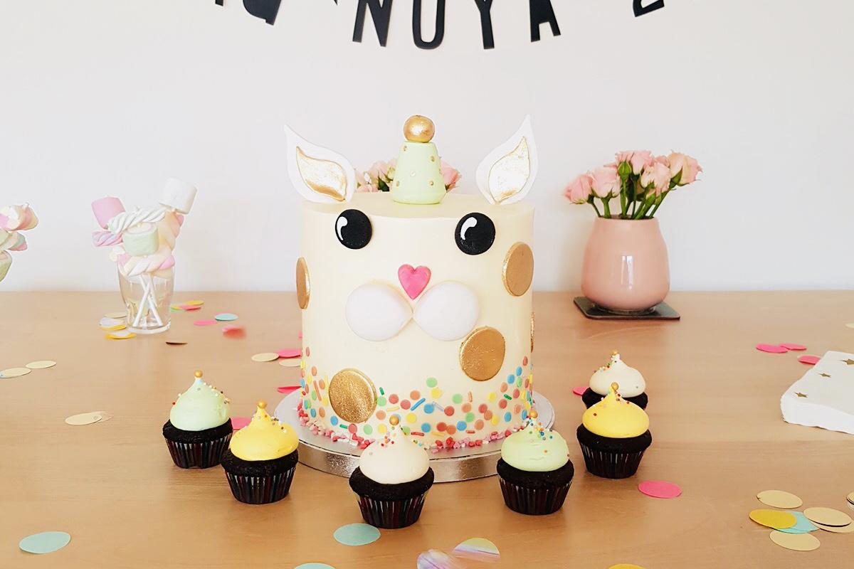 Taart voor op uw verjaardag