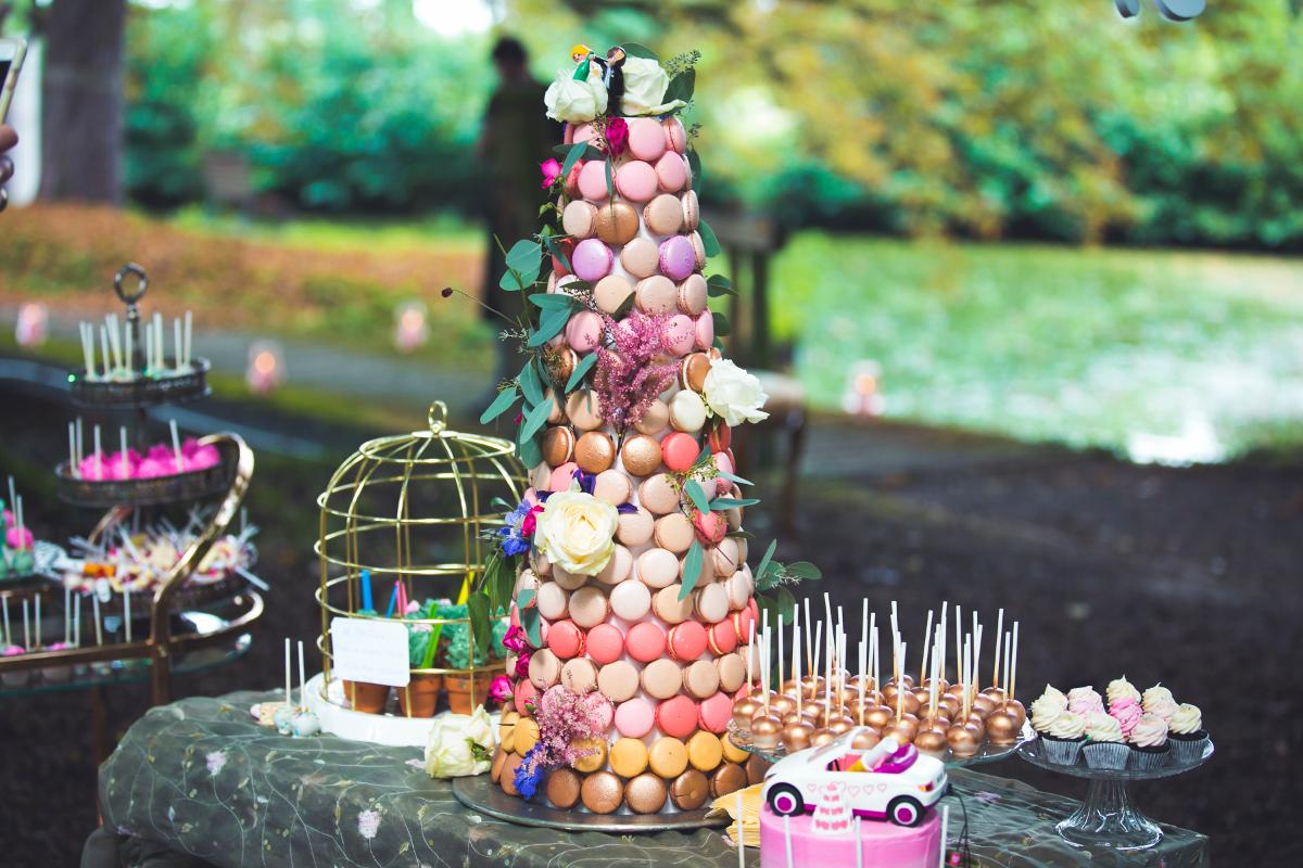Macaron toren Cupcake Boutique