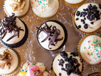 allerlei smaken mini cupcakes